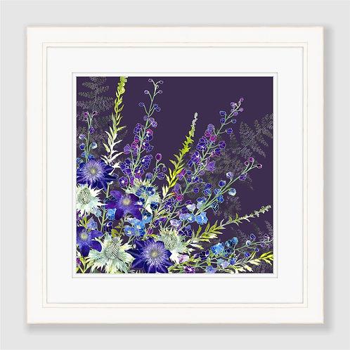 Purple Cluster Print