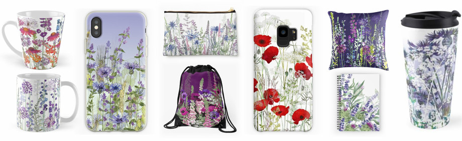 Mugs, Phone Cases, Bags, Cushions, Notebooks, Travel Mugs, Coffee Cups