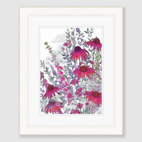 Pink Paradise (Portrait) Print