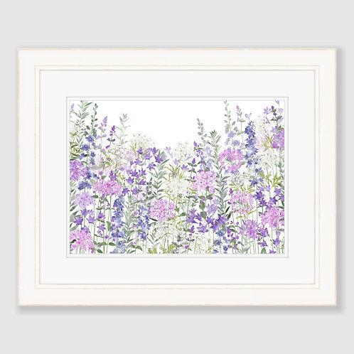 Floral Symphony (Landscape) Print