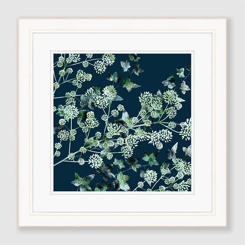 Elk Clover and Ivy Print