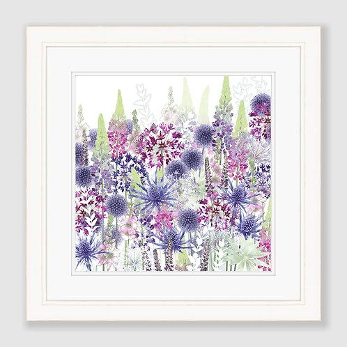 Flower Dance (Square) Print