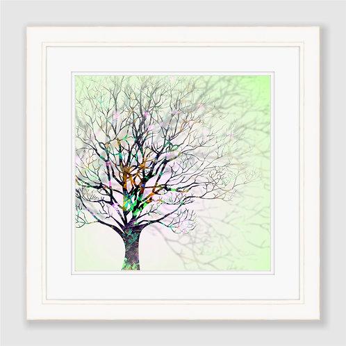 Wintry Tree Print