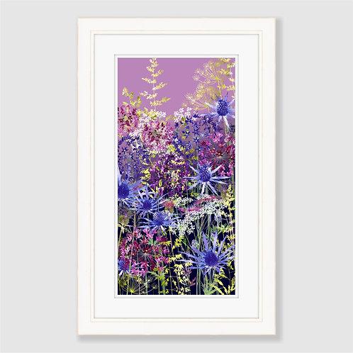 Sunset Garden Print