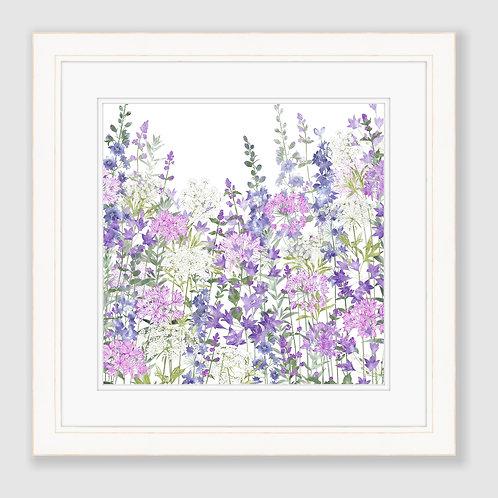Floral Symphony (Square) Print