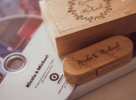 I am now adding a personalised wedding presentation box to select wedding videography packages.