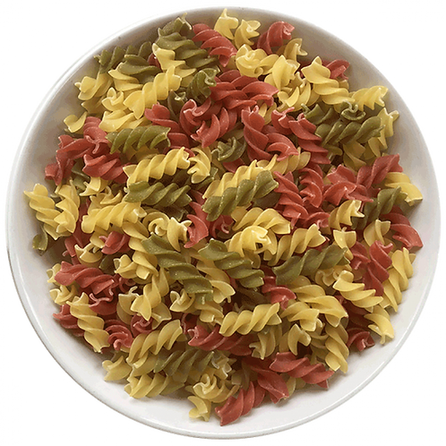Organic Tri-Colour Fusilli Pasta