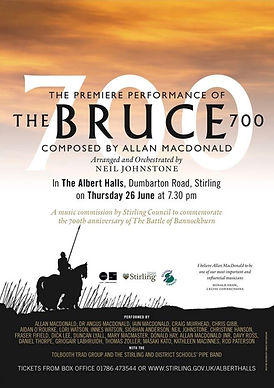 The Bruce 700 concert poster