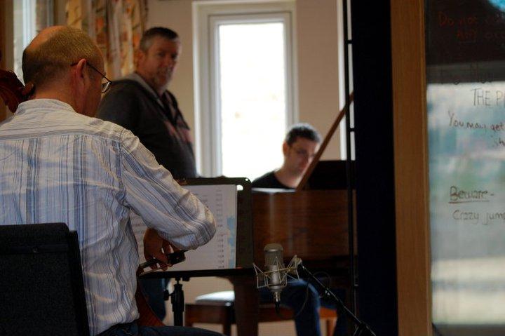 Neil, Iain & James recording