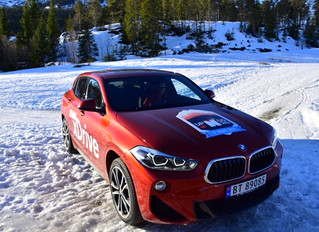 Nå har den nye BMW X2 ankommet Hemsedal