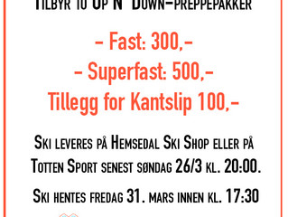Tilbud på Skiprepp hos Hemsedal Ski Shop