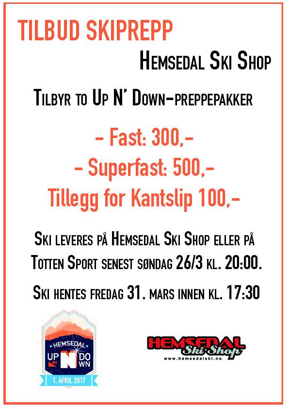 Tilbud Ski Shop