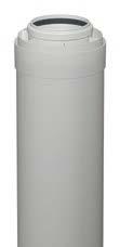 7194322 Купить трубу дымохода коаксиальную 80/125 мм, L=1,95 м для котла Vitodens в Viessmann-Russia Самара