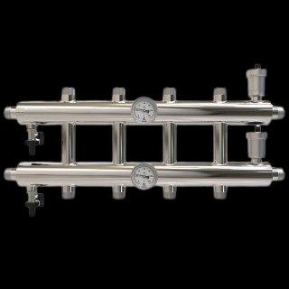 GK 25-5 Распределительный коллектор 60 кВт, 5 контуров