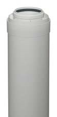 7194320 Купить трубу дымохода коаксиальную 80/125 мм, L=0,5 м для котла Vitodens в Viessmann-Russia Самара