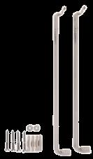 7572550 Купить монтажный комплект для бокового подключения радиаторов Виссманн высотой 900 мм в Viessmann-Russia Самара
