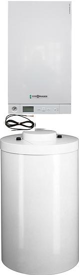 A1HB023 Котел Vitopend 100-W, 24 кВт с бойлером 100 л, и датчиком температуры