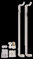 7572540 Монтажный комплект для нижнего подключения радиаторов высотой 500 мм