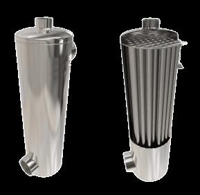 ТО 120.10 Теплообменник трубчатый, 120 кВт