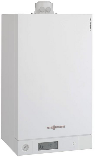 Купить настенный конденсационный котел Viessmann Vitodens 100-W B1HC041, 19 кВт одноконтурный в Viessmann-Russia Самара