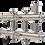Thumbnail: GK 25-3 Распределительный коллектор 60 кВт, 3 контура