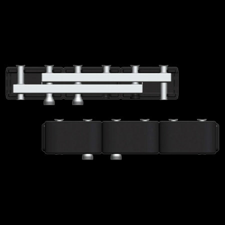 купить 7741060 Стальной распределительный коллектор Виссманн DN25 на 3 насосные группы в viessmann-Russia Самара