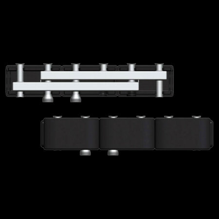 купить 7741063 Стальной распределительный коллектор Виссманн DN32 на 3 насосные группы в Viessmann-Russia Самара