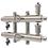 Thumbnail: GK 32-3 Распределительный коллектор 85 кВт, 3 контура