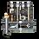 Thumbnail: GSK 32-2.1, Распределительный коллектор с гидрострелкой 85 кВт, 2+1 контур