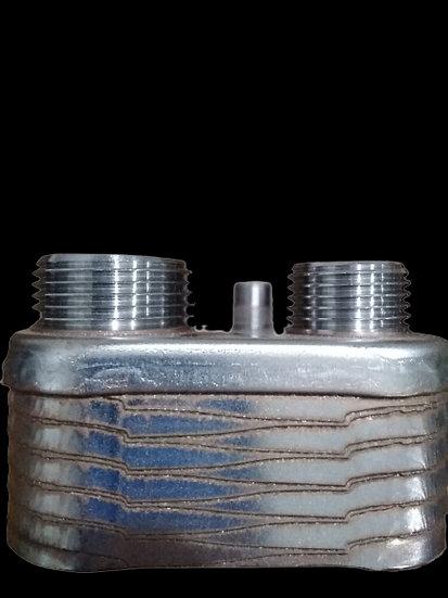 Теплообменник пластинчатый, 24 кВт, 12 пластин