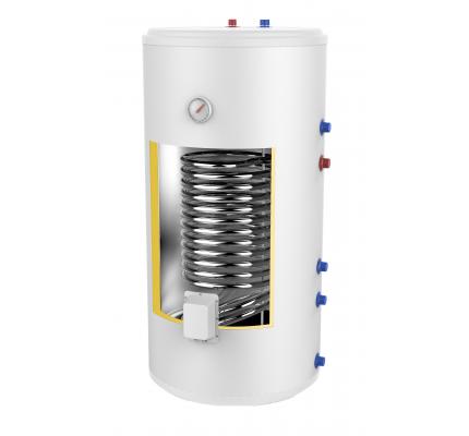 AMET 150 INOX, Напольный бойлер из нержавеющей стали, 150 литров