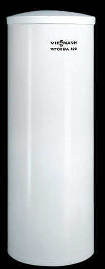 Z018468 Бойлер Vitocell 100-W, тип CVAA, 200 литров. Цвет-белый.