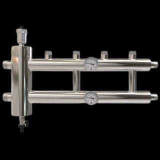 GSK 40-2.1, Распределительный коллектор с гидрострелкой 120 кВт, 2+1 контур