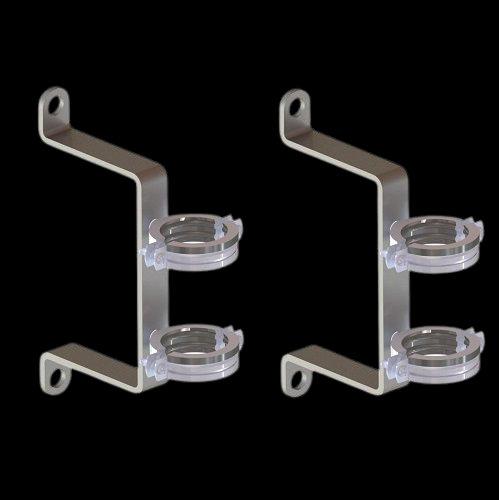 KRS-01, Крепёж для коллекторов серии GSK и GK из нержавеющей стали (2 шт.)