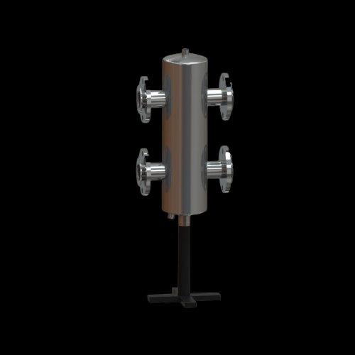 GS 50F Гидравлический разделитель фланцевый, 200 кВт (10 м.куб/ч)