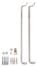 7572538 Купить монтажный комплект для нижнего подключения радиаторов Виссманн высотой 300 мм в Viessmann-Russia Самара