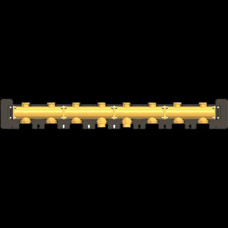 купить 7741070 Латунный распределительный коллектор DN32 на 4 насосных группы в Viessmann-Russia Самара