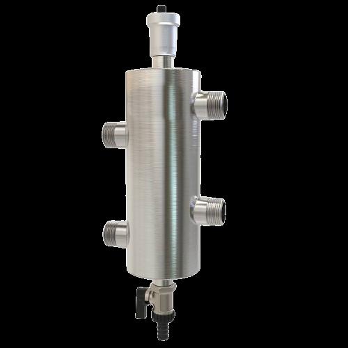 GS 25-1 ECO, Гидравлический разделитель ECO 60 кВт (2 м.куб/ч)
