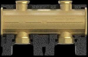 7733509 Дополнительный модуль DN25 латунного коллектора