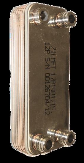 Пластинчатый теплообменник ZB207 20-30 до 70 кВт, 30 пластин