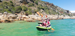 "Ariving from ""Praia dos Coelhos"""
