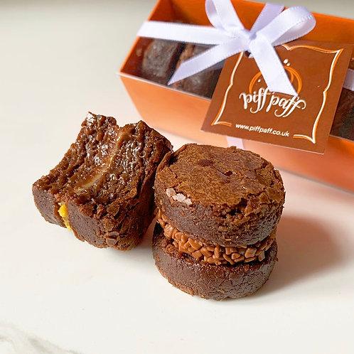 Brownie & Blondie Sandwich Gift Box