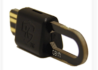SmartFob key fob for multi-family key management system