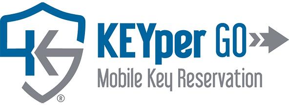 KEYper GO Mobile App for electronic key management logo