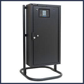 Large KEYper MX Electronic Key Management Cabinet On Stand