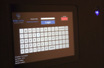 Touchscreen and Biometric Access for KEYperHC Electronic Key Management for Multi-Family