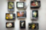 Forbes McKail Retro Televition Installation
