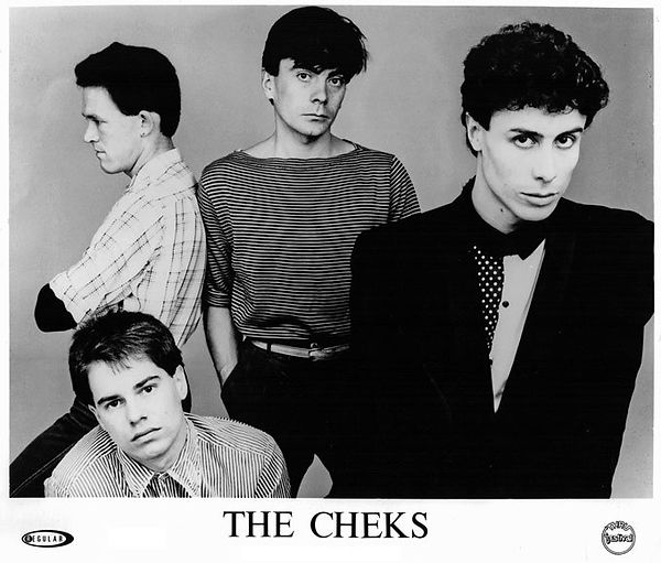 The Cheks - John Clifforth, Paul Hester, Ken Campbell and Steve Carter