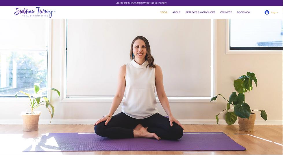 Siobhan Tierney Yoga & Meditation | Leil