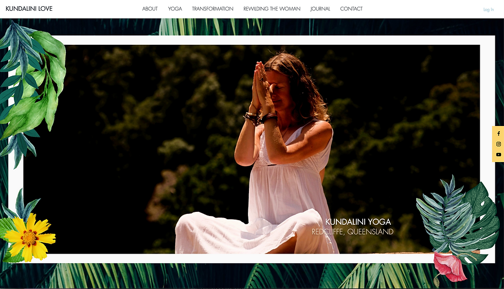 Kundalini Love | Website Design | Leila